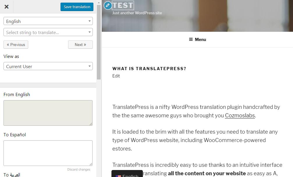 TranslatePress WordPress翻译插件指南